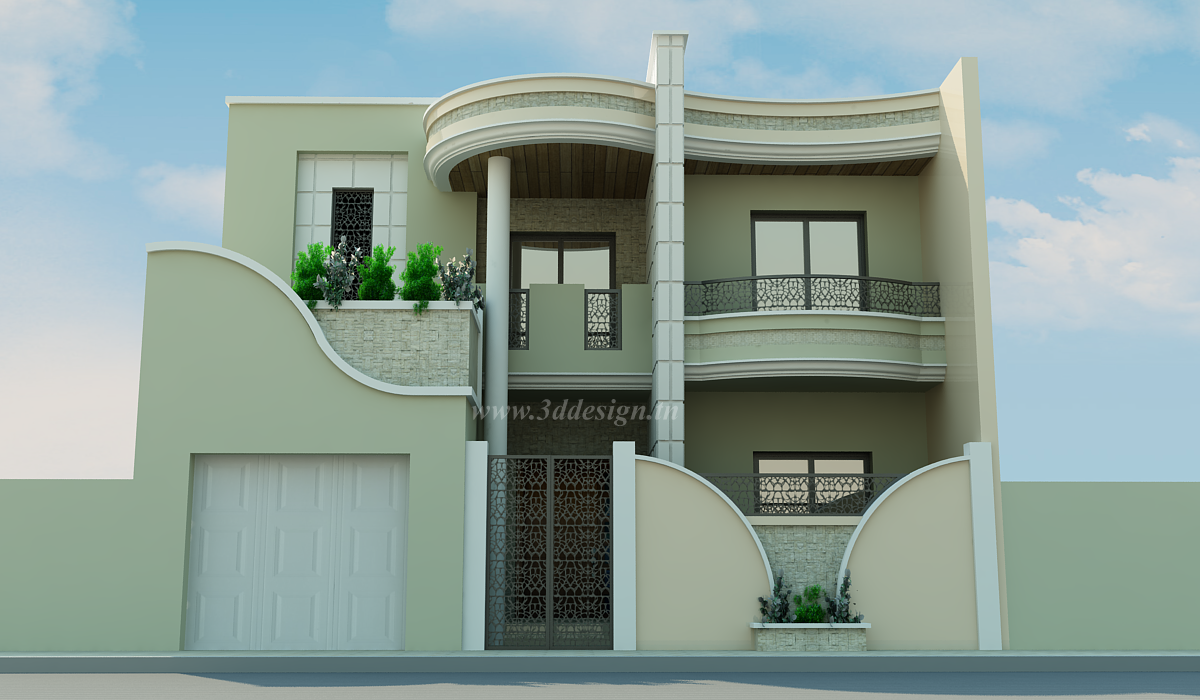 Plans de villas joy studio design gallery best design for Plan maison tunisie